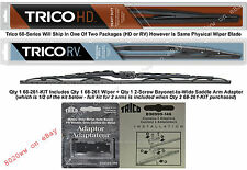 Wiper Blade w/Adapter Kit - Fits Hino, Mistubishi Fuso, UD Trucks - 68-261-KIT