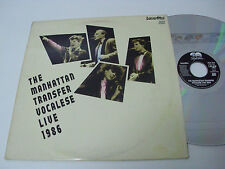 THE MANHATTAN TRANSFER Vocalese Live 1986 - Laser Disc - LD