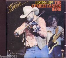 CHARLIE DANIELS BAND Listen Up Excelsior CD Classic 70s 80s Country IN AMERICA