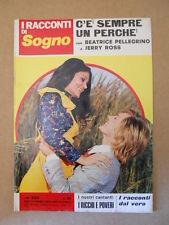 I Racconti di Sogno n°91 1973 Fotoromanzo Anni 70 - I Ricchi e Poveri  [G581]