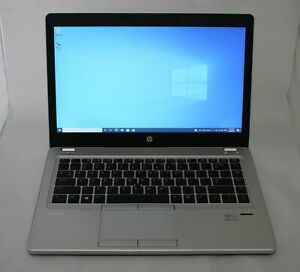 HP ELITEBOOK FOLIO 9470m LAPTOP CORE I7 @ 2.1GHz 16GB 250GB SSD WEBCAM WIN10