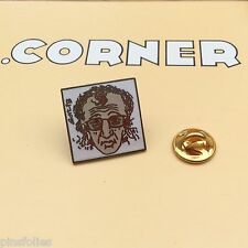 Pin's Folies *** Corner signé BD Comics Gotlib Media Fuide glacial Woody Allen
