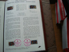 FRANCE - document poste 1er jour 5/12/1981 (croix-rouge) french