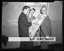 1954 Original 4x5 Negative Actor EDDIE BRACKEN - Actress LYDIA CLARK