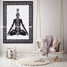Meditation Yoga Indian Tapestry Hippie Wall Hanging Bohemian Poster Table Cover