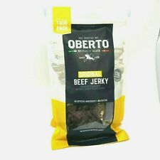 Oberto Original Beef Jerky 9 oz Ea. All Natural Nitrate Free Gluten Free 2-Pack