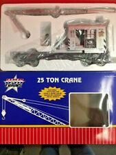 USA TRAINS/GCS SOUTHERN PACIFIC 25TON CRANE 1:29 SCALE W/METAL WHEELS NEW IN BOX