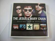 JESUS & MARY CHAIN - ORIGINAL ALBUM SERIES - 5CD BOXSET NEW SEALED