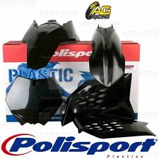 Polisport Enduro Standard Box Kit For KTM XC 300 Black 2010