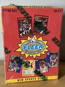 Fleer NBA 1991-1992 Basketball Update Series Wax Box Sealed Item 591 36 Packs