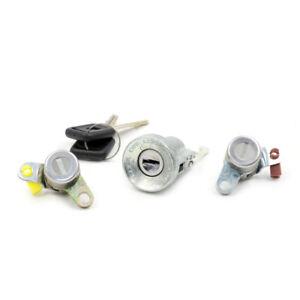 Ignition Switch Cylinder Door Lock Set Fits 88-02 Isuzu TF TFR KB42 Rodeo Faster