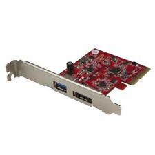 startech.com USB-A 3.1 y eSATA (10Gbps) PCIe Tarjeta
