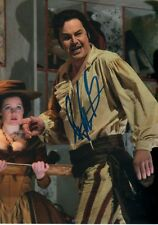 Peter Mattei opera autógrafo signed 13x18 cm imagen