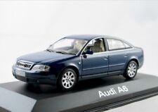 Audi A6 (C5 Typ 4B)  1997-2001  santorinblau metallic  / Minichamps  1:43