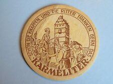Beer Coaster ~ Karmeliter Bräu ~ Bad Neustadt-Salz, Bavaria, Germany Since 1352