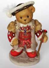 Cherished Teddies 2001 Figurine, King Henry, Uk Special Exclusive, 847860, Nib