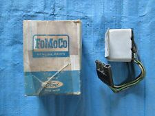 1967 Mercury Cougar Turn Indicator Relay Assembly 4-Terminal