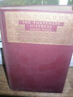 The Fortunate Mistress Daniel Defoe Limited 1st Edition #1587 1924