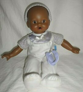Little Mommy Cuddle & Coo African American Baby Doll Fisher Price Banned 2008