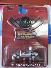 1/64 Reel Rides Malibu International Ltd Back To The Future '81 Delorean Dmc 12
