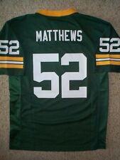 Green Bay Packers CLAY MATTHEWS nfl Jersey YOUTH KIDS BOYS (m-med-medium)