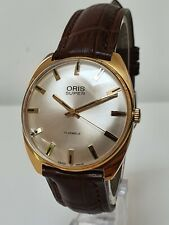 Beautiful ORIS 'Super' 17 Jewel Vintage Gents Watch - Top Condition - FWO