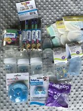 Lot baby Feeding Items Avent Bottles Pacifires Formula Dispenser And Samples
