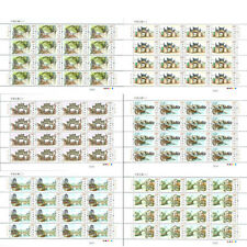 CHINA 2016-12 Ancient Town of China II set stamps full sheet