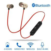 M5 Wireless Bluetooth Earphone Magnetic Attraction Handsfree Stereo Headset Mic