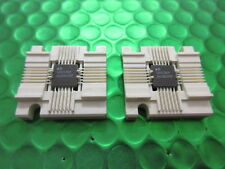 100136Y, CERAMIC SIGNETICS IC WITH HOLDER. RARE & COLLECTABLE, 2 PER SALE. UK