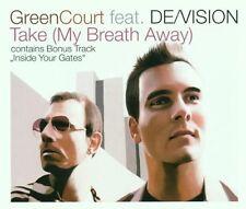 Green Court Take (my breath away)/Inside your gates (2001, feat. De/.. [Maxi-CD]