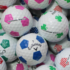 50 Callaway Chrome soft Truvis mix Golf Balls AAAA lakeballs Top Quality Balls