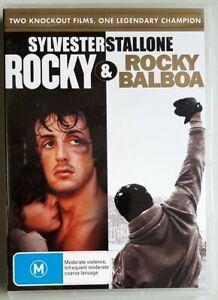 Rocky / Rocky Balboa (2-Disc DVD, 2007) Sylvester Stallone NEW/SEALED (Region 4)