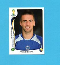 BRASILE 2014-PANINI-Figurina n.448-IBISEVIC'-BOSNA/HERCEGOVINA-NEW BLACK BACK