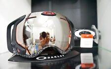 Oakley Airwave Snow Ski Goggles Silver Text Black Iridium Lens No GPS Remote etc