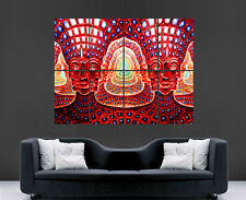 TRIPPY PSYCHEDELIC POSTER BRIGHT ABSTRACT HUGE IMAGE GIANT PRINT WALL ART