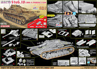 DRAGON Model 6615 1/35 '39-'45 Series Sd.Kfz.167 StuG.IU Early Production 2 in 1