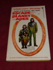 Escape from the Planet of the Apes by Jerry Pournelle (1973) SIGNED x2 Paul Dehn