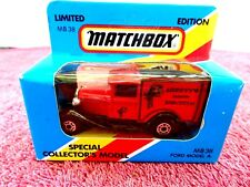 MATCHBOX  LIMITED EDITION 1981  MB 38  FORD MODEL A  [ARNOTTS BISCUITS] UNOPENED