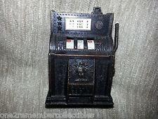 GOLDEN EAGLE Slot Machine PENCIL SHARPENER One Arm Bandit MOVABLE Las Vegas VTG