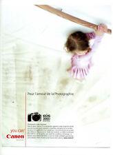2000 / Appareil photo Canon EOS 300D / publicity / advertising