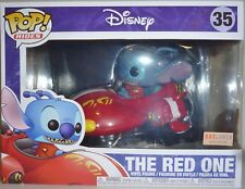 "THE RED ONE Lilo & Stitch Pop Rides 8"" Vinyl Vehicle & Figure #35 Box Lunch 2017"
