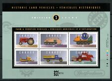 Weeda Canada 1552ii VF MNH S/S of 6 on DF paper, Historic Vehicles CV $25