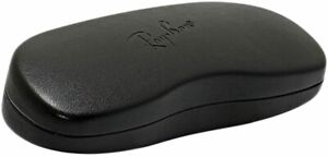 Ray Ban Hard Black Sunglasses Glasses Case with Cleaning Cloth FREE POSTAGE