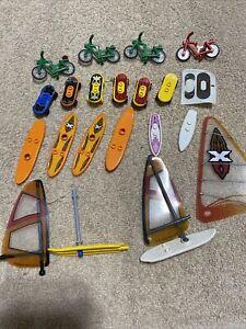 Lot Of Lego Skateboard Snowboard Bicycle Legos