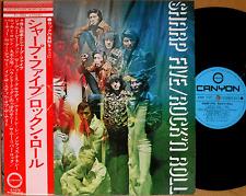 ♪SHARP FIVE rock'n roll '73 LP w/OBI japan freakbeat psych dj funk drum breaks