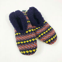NWT Snoozies Geometric Design Slippers Non Skid US Size M 7/8