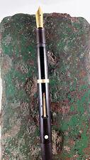 1920's Sheaffer's White Dot Lever Filler Desk Pen (14k Lifetime Nib)