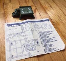 1982 Hasbro G.I. Joe 'Jump' Parts W/ INSTRUCTIONS NO BOX