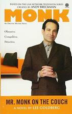Mr. Monk on the Couch, Very Good Condition Book, Lee Goldberg, ISBN 978045123533